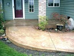 Stained concrete patio Backyard Painted Concrete Front Porch Painted Concrete Patio Ideas Stained Concrete Patio Cost Concrete Patio Cost Or Staining Concrete Patio Best Painted Concrete Travelinsurancedotaucom Painted Concrete Front Porch Painted Concrete Patio Ideas Stained