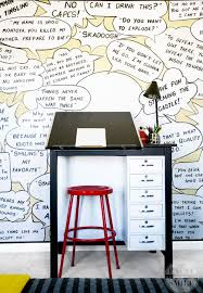 diy comic book desk. Great Comic Bedroom!! ART Art Desk And Awesome Kids Makeover!! This Room Diy Book