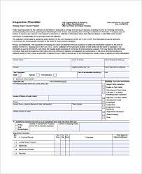 14 Home Inspection Checklists Free Sample Example Format