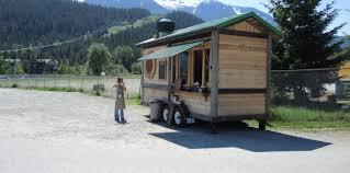 custom tiny house trailer. Food Trends: Custom Built Tiny House Cafe\u0027s On The Rise Trailer O
