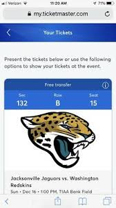 Jacksonville Jaguars 3d Seating Chart Houston Texans Vs Jacksonville Jaguars Football Tickets
