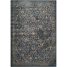 safavieh vintage blue light gray 5 ft x 8 ft area rug