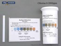 2000ppm Free Chlorine