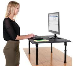 standing computer desk 32 folding standing desktop desk stand up desk
