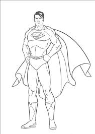 Free Superman Coloring Pages With 14