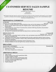 Customer Service Resume Skills - Sample Resume Cover Letter For ...