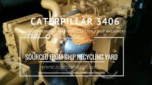 Caterpillar Ship Machinery Used Recondition