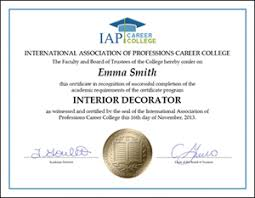 certificate of interior design. Plain Certificate Certificate Interior Design 6 Fancy Certificates Vitlt Com Throughout Of H