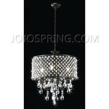 bronze crystal chandelier antique 4 light round celeste dark glass