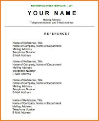 14 Personal Reference For Resume Steamtraaleren Borgenes