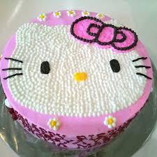 Jual Hello Kitty Cake Size 20 Vie777 Shop Tokopedia