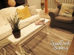 diy narrow coffee table or country bench tutorial sawdust sisters ikea coffeetablef