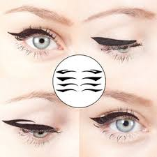 these basic retro winged cat eye temporary tattoos are my favorite you can get the perfect winged eye with no skill and without worrying about smudging
