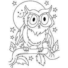 owl coloring pages free printable.  Pages Throughout Owl Coloring Pages Free Printable B