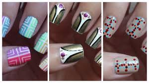 Easy Nail Art For Beginners!!! #10 - YouTube