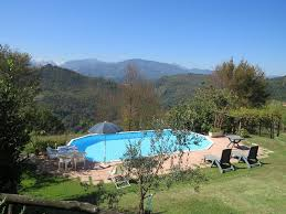 apartment with private garden and shared pool beautiful mountain views