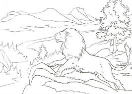 lion coloring pages narnia the lion the witch and the