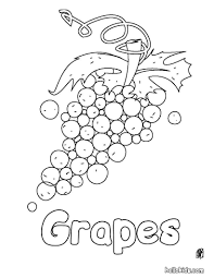 Small Picture Grapes coloring pages Hellokidscom