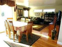 area rug under dining room table carpet kitchen on image of best rugs my underneath