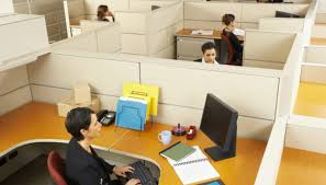 office with cubicles. Giving Up The Space Of An Office For That A Cubicle Can Be Difficult. With Cubicles