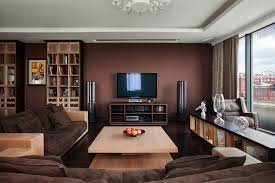 brown living room. Lovely Dark Brown Living Room 99 With Additional Sofa Table Ideas O