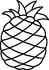 Small Picture Hawaiian Pineapple Free Coloring Page Wecoloringpage