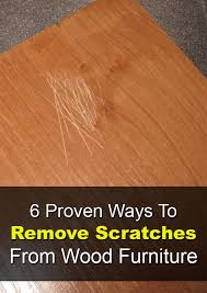 try these quick fi to cover up small scratches and imperfections using items you already have in your home