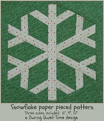 Snowflake Paper Pieced Pattern   During Quiet Time & Snowflake Paper Pieced Pattern by Amy Friend Adamdwight.com