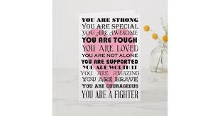 Words Of Encouragement Get Well Or Cancer Card Zazzle Com
