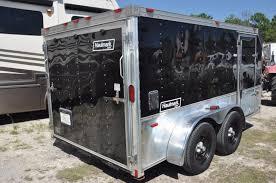 2003 haulmark 7 x 12 enclosed motorcycle trailer