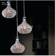 crystal mini pendant lighting s s crystal mini pendant lighting for kitchen