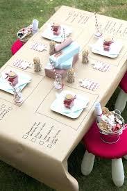 round paper tablecloths decorative white