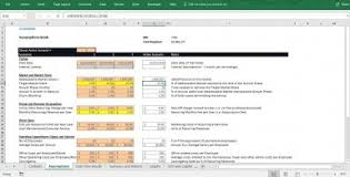 Cash Flow Model Excel Cash Flow Excel Model With Monthly P L Balance Sheet Cf Statement Scenarios Dcf Capital And Debt Structure