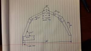building your own gambrel barn wood roof trusses