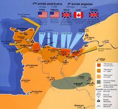 Resultado de imagem para II Guerra Mundial: dia D - Início da invasão da Normandia