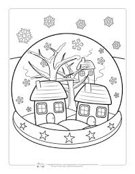 Winter coloring pages help kids develop many important skills. Winter Coloring Pages Itsybitsyfun Com