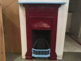 New Art Deco Stepped Plaster Fire Surround  Fireplaces Art Deco Fireplace