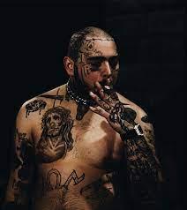 rapper Post Malone ...