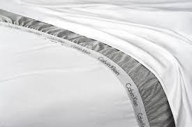 calvin klein launches modern cotton bedding collection