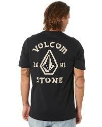 Volcom Big Boy Size Chart Big Outline Mens Tee