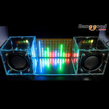 With Housing <b>DIY</b> Music Spectrum <b>LED Flash Kit DIY</b> Amplifier ...