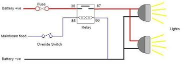 relay switch wiring diagram relay image wiring diagram how to wire a relay for off road led lights extreme lights on relay switch wiring
