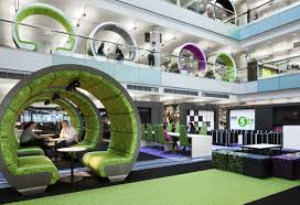 creative office designs. Creative Office Design Ideas. BBC North Interior Spaces Ideas Designs