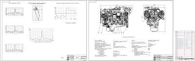 Курсовые и дипломные работы автомобили расчет устройство  Курсовая работа Двигатель ЯМЗ 238