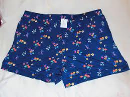 Details About Vera Bradley Pajama Shorts In Santiago Floral Size Xl 16 18 21510 G75xl