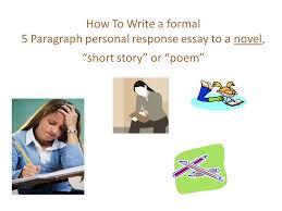 reading response essay personal response essay structure     Usopek  Argument Analysis Essay Essay Land Pollution College