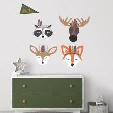 Shop Sleepy Woodland Animals Giant Wall Decals | RoomMates