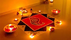 the traditional diwali decoration creative rangolis