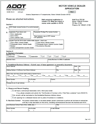 Business Account Application Form Template