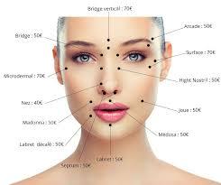 Tarifs Visage In 2019 Facial Piercings Piercings Face
